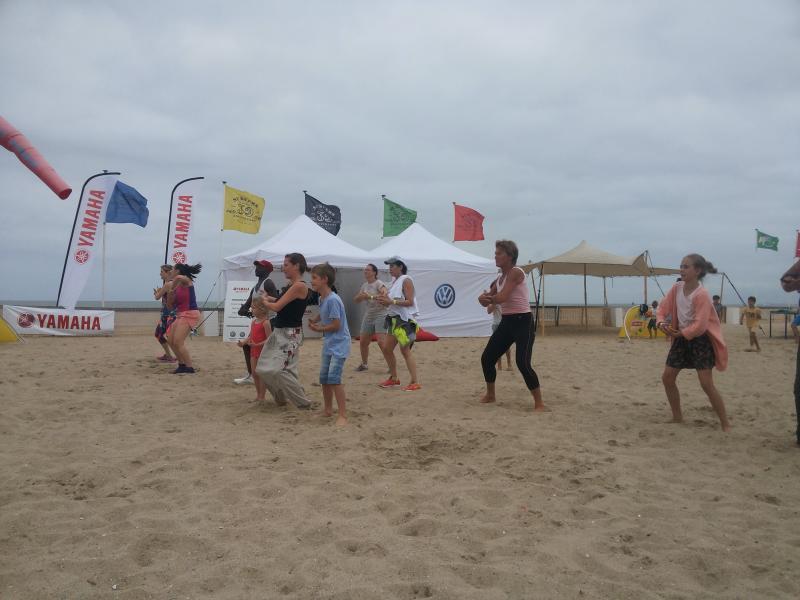 Fitness4life: grand évènement fitness sur la plage durant l'été