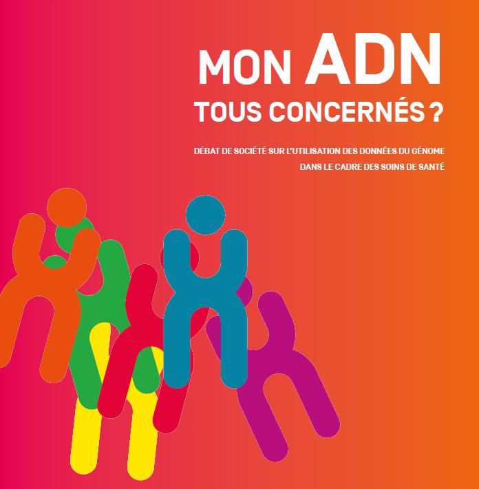 Les belges donnent leur avis sur l'utilisation de leurs données ADN.